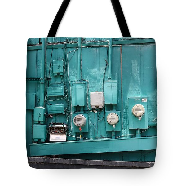 Meter Reader Tote Bag