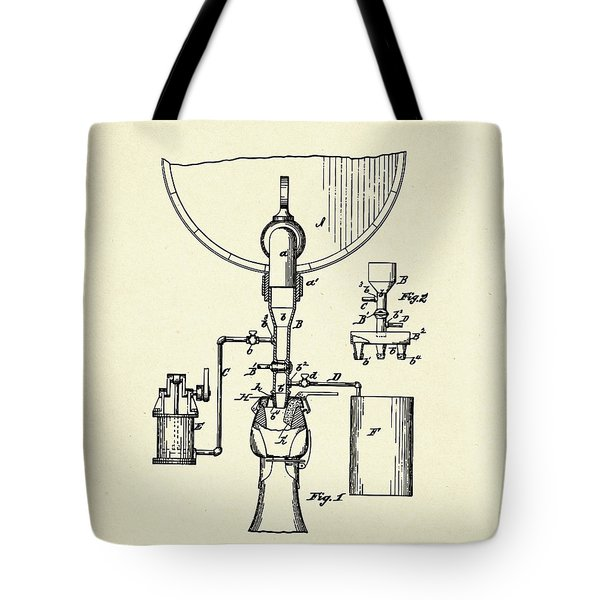 Method Of And Apparatus For Bottling Beer-1884 Tote Bag