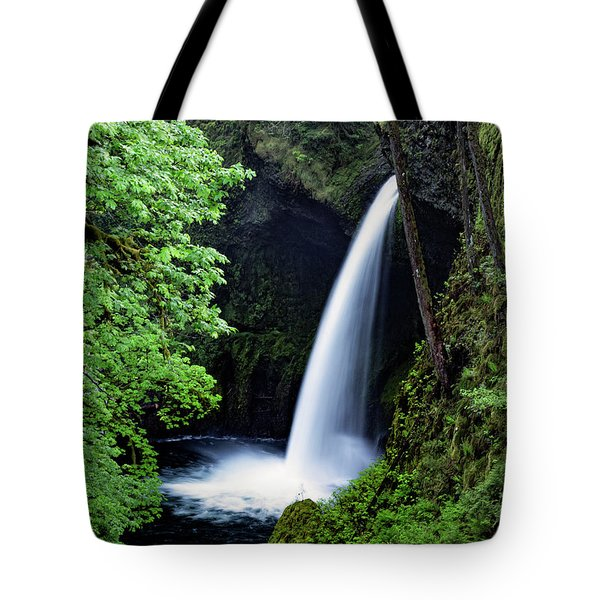 Metlako Falls Waterfall Art By Kaylyn Franks Tote Bag