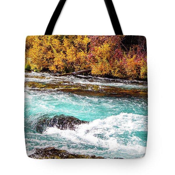 Metolius River Tote Bag