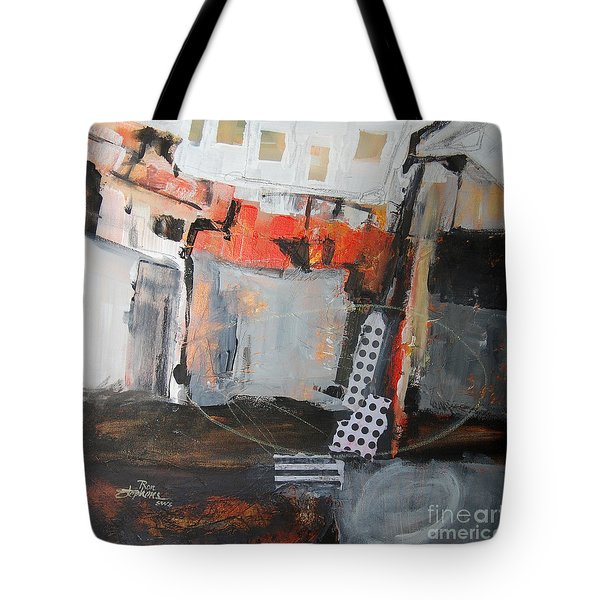 Metro Abstract Tote Bag