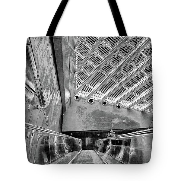 Metro Line 4 Structures, Budapest 3 Tote Bag