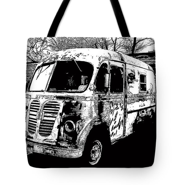 Metro Van Side Tote Bag