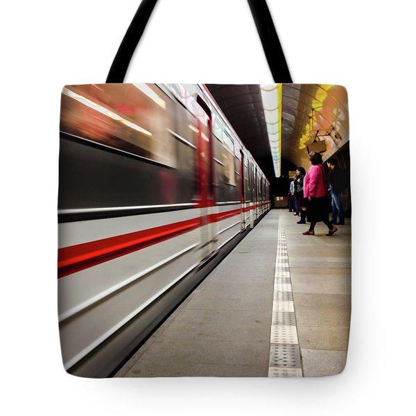 Metroland Tote Bag