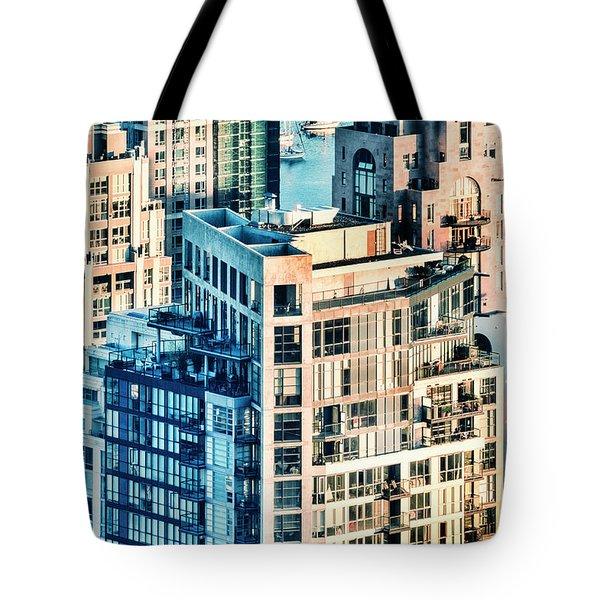 Metropolis Tote Bag by Amyn Nasser
