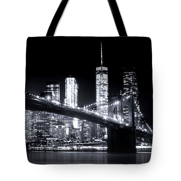Metropolis Tote Bag by Mark Andrew Thomas