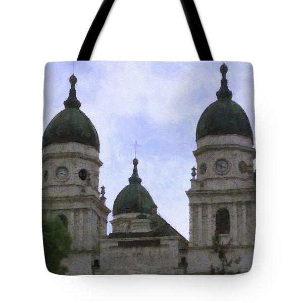 Metropolitan Cathedral Tote Bag by Jeffrey Kolker