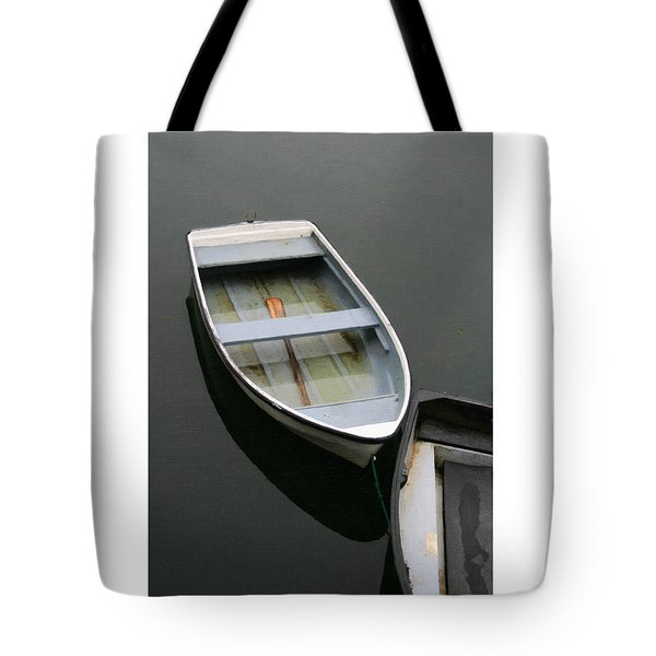 Tote Bag featuring the digital art Mevagissy Boat by Julian Perry
