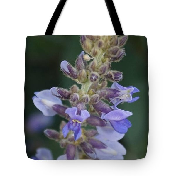 Tote Bag featuring the photograph Mexican Answer To Bluebonnet by Cindy Charles Ouellette