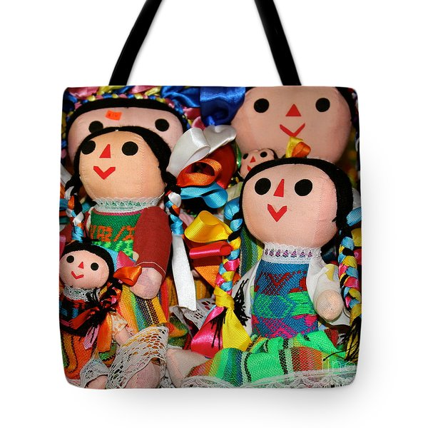Mexican Dolls Tote Bag