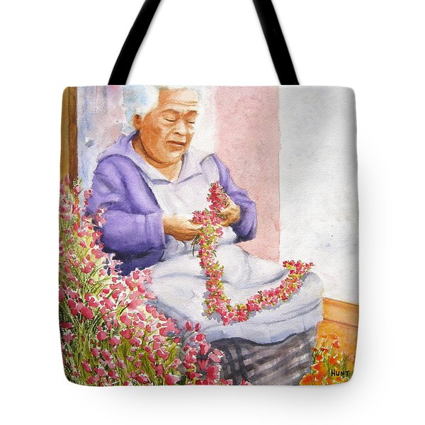 Mexican Flower Tote Bag