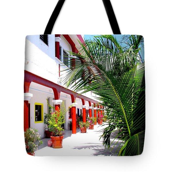 Mexican Hacienda Tote Bag
