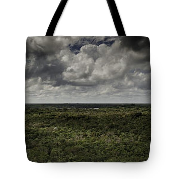 Mexican Jungle Panoramic Tote Bag