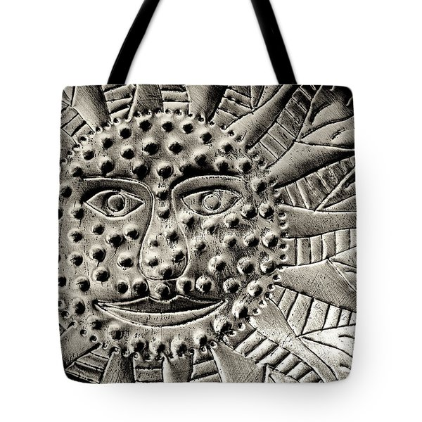 Mexican Mirror Detail Tote Bag