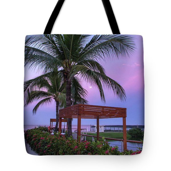 Mexican Moonrise Mexican Art By Kaylyn Franks Tote Bag