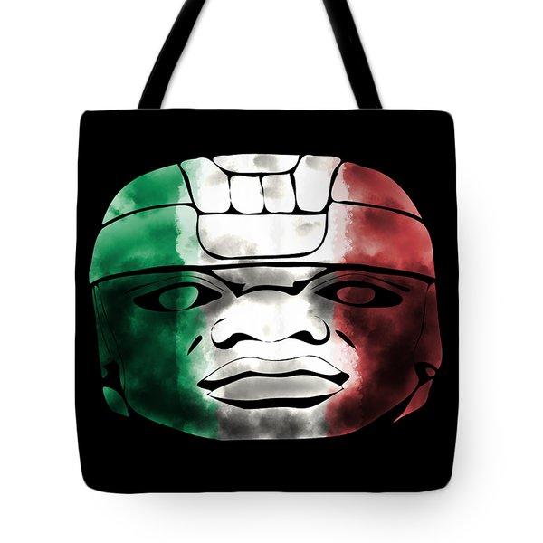 Mexican Olmec Tote Bag