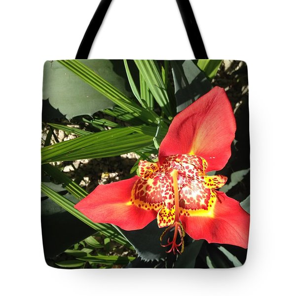 Mexican Orchid Tote Bag