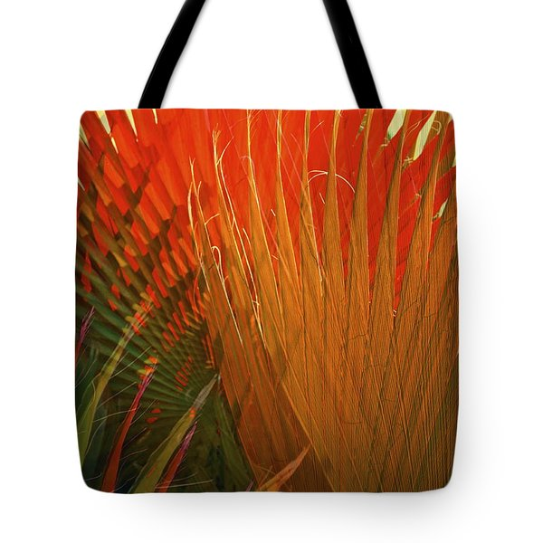 Mexican Palm Tote Bag by Gwyn Newcombe