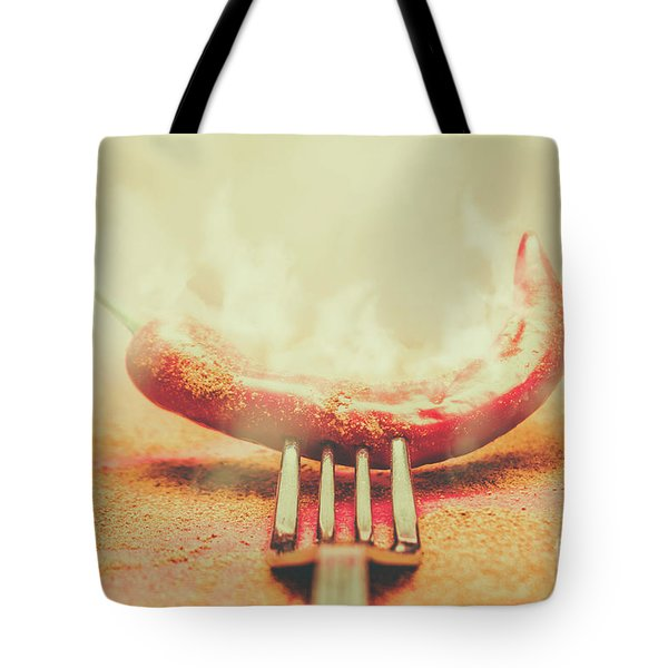 Mexican Restaurant Artwork Tote Bag
