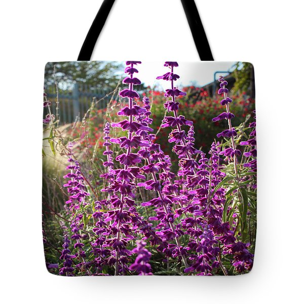 Mexican Sage Tote Bag