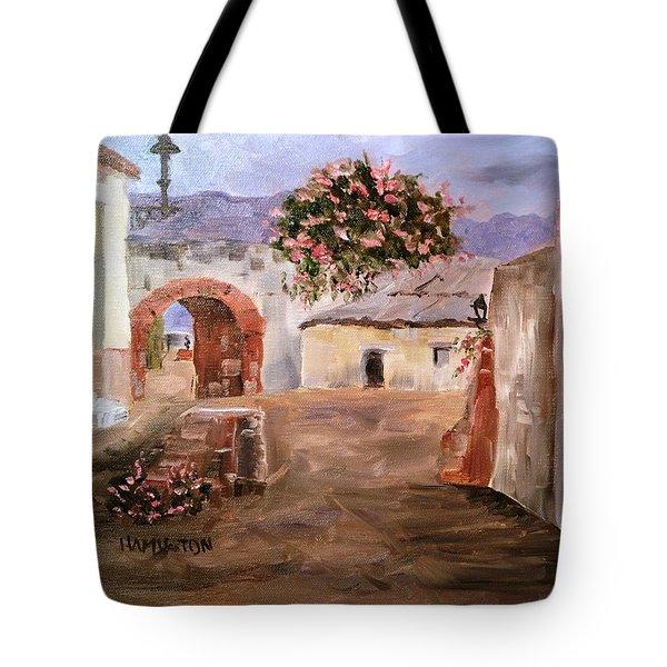 Mexican Street Scene Tote Bag
