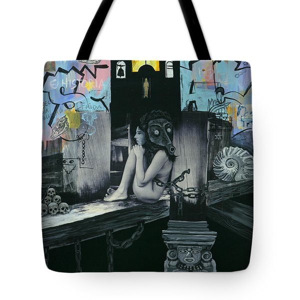 Mexican Water Goddess Tote Bag