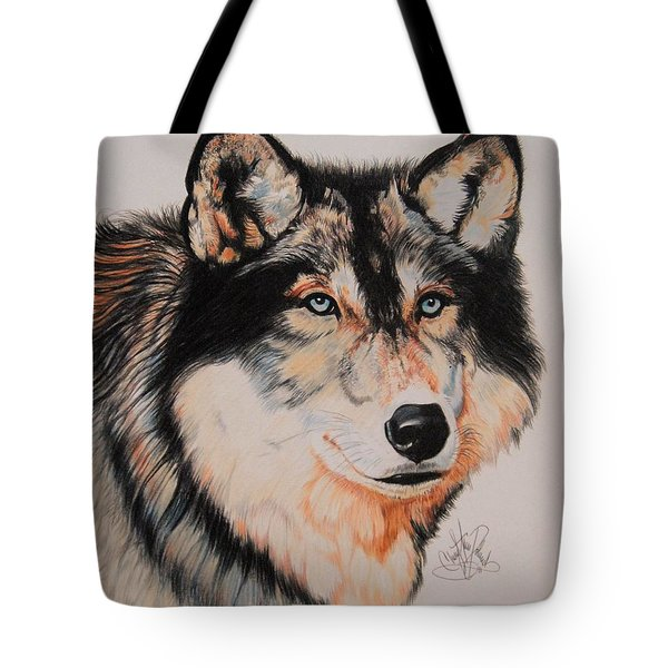Mexican Wolf Hybrid Tote Bag by Cheryl Poland