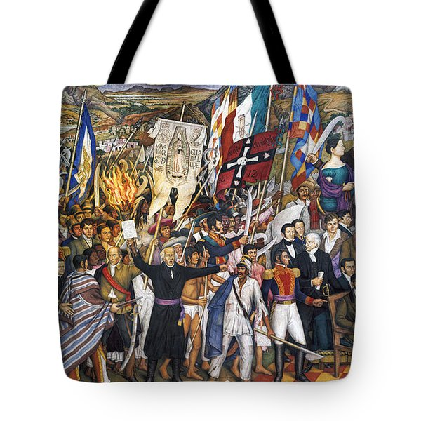 Mexico: 1810 Revolution Tote Bag by Granger
