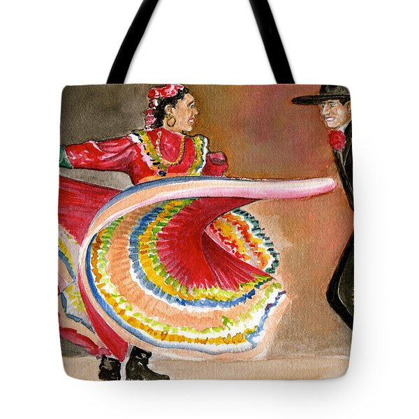 Mexico City Ballet Folklorico Tote Bag