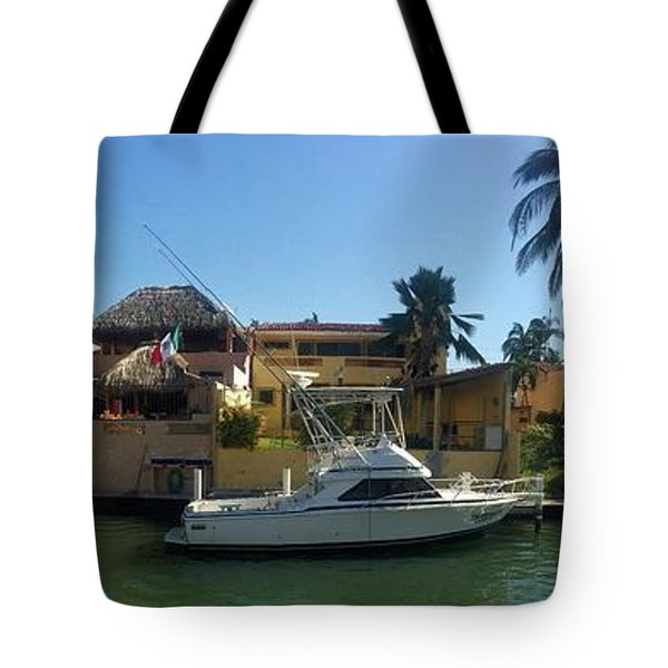 Tote Bag featuring the photograph Mexico Memories 5 by Victor K