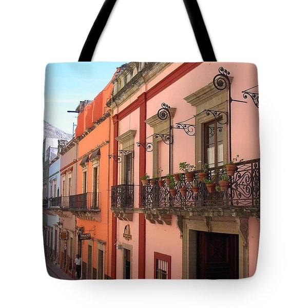 Tote Bag featuring the photograph Mexico by Mary-Lee Sanders