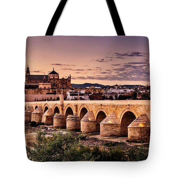 Mezquita In The Evening Tote Bag