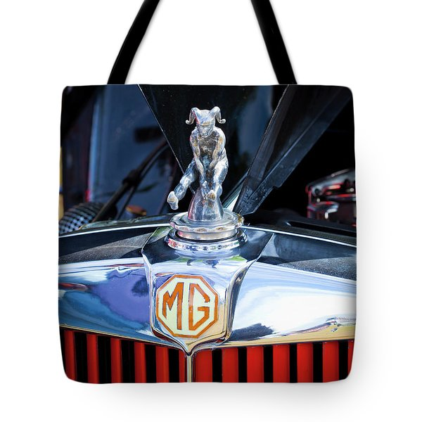 Tote Bag featuring the photograph Mg Fool by Chris Dutton
