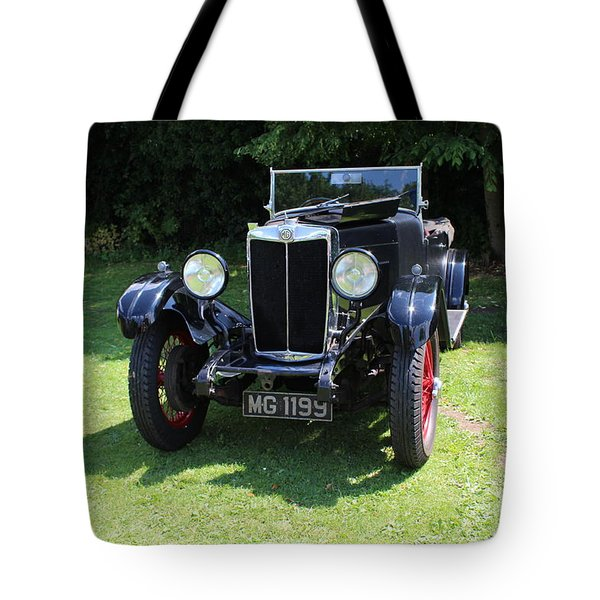 Mg Ta Tote Bag
