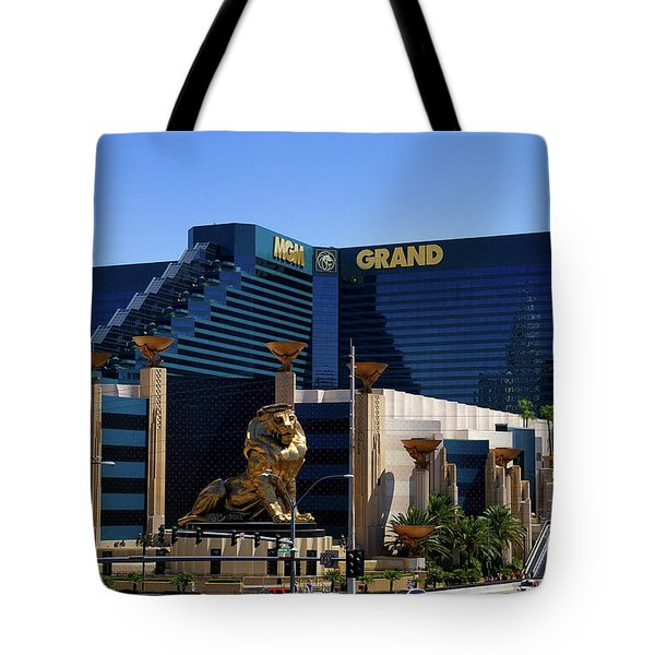 Mgm Grand Hotel Casino Tote Bag