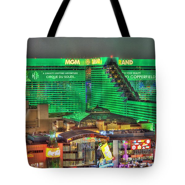 Mgm Grand Las Vegas Tote Bag