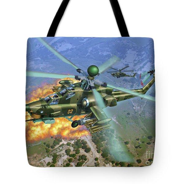 Mi-28 Havoc Tote Bag