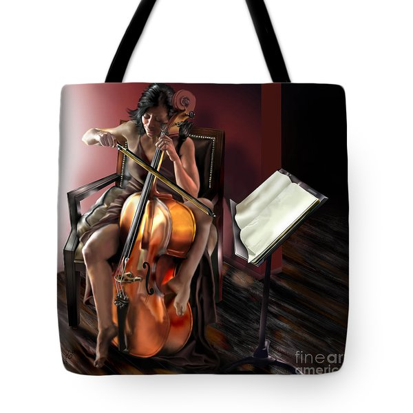 Mi Chica - Solace In The Unseen Tote Bag by Reggie Duffie