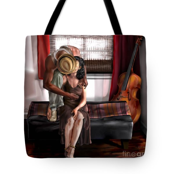 Mi Chica-amo A Mi Esposita  Tote Bag by Reggie Duffie
