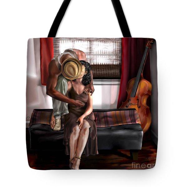 Mi Chica-amo A Mi Esposita  Tote Bag