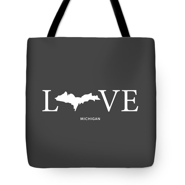 Mi Love Tote Bag by Nancy Ingersoll