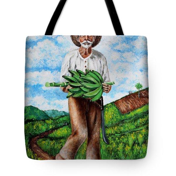 Mi Pan Es Tu Pan... Tote Bag by Edgar Torres