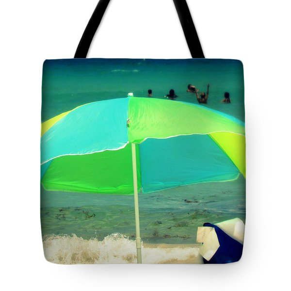 Tote Bag featuring the photograph Miami Beach 3 by France Laliberte