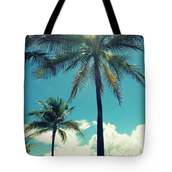 Tote Bag featuring the photograph Miami Beach by France Laliberte