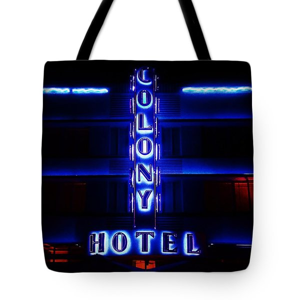 Miami Deco Tote Bag by Benjamin Yeager