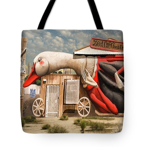 Tote Bag featuring the digital art Miami Graffiti by Jeff Burgess