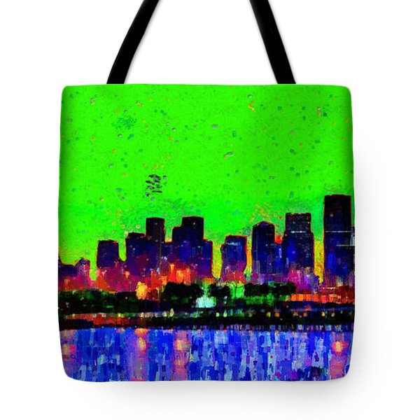 Miami Skyline 27 - Da Tote Bag