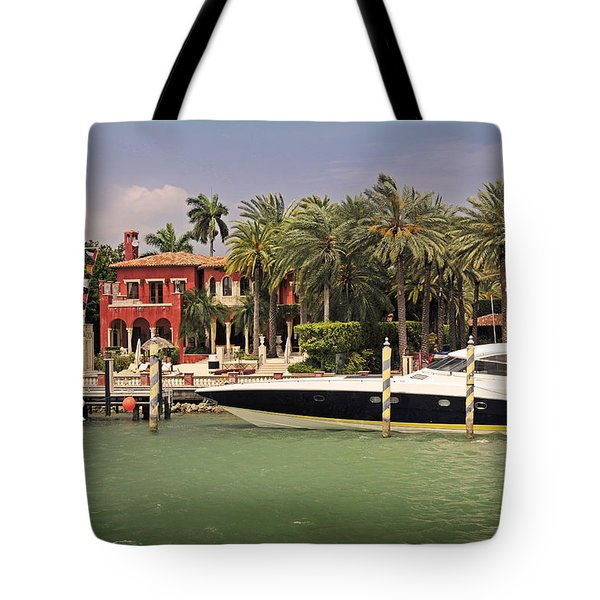 Miami Style Tote Bag by Steven Sparks