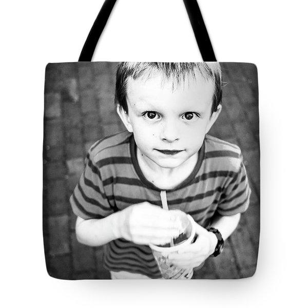 Micah, I Love Him! Tote Bag by Aleck Cartwright