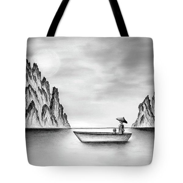 Micah Monk 01 - In The Moment Tote Bag